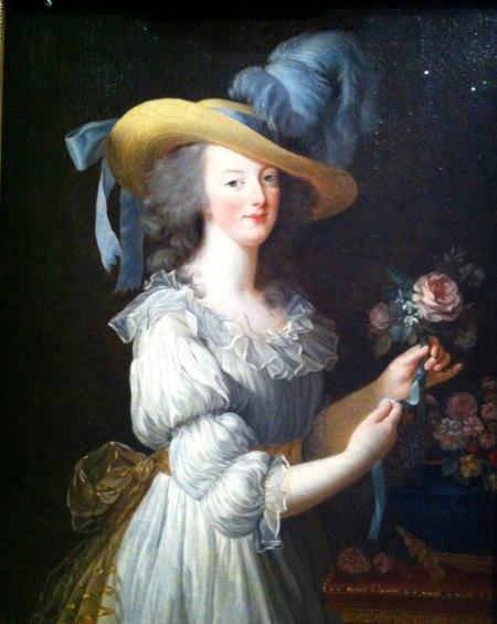 Marie-Antoinette en chemise ou en gaulle, Vigée Le Brun, vers 1783, Huile sur toile
