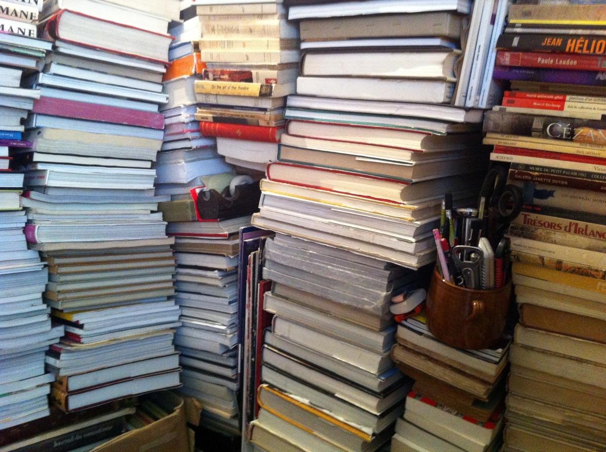 Un capharnaüm de librairie