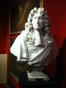Colbert, Charles Antoine Coysevox, buste en marbre blanc de carrare, 1677