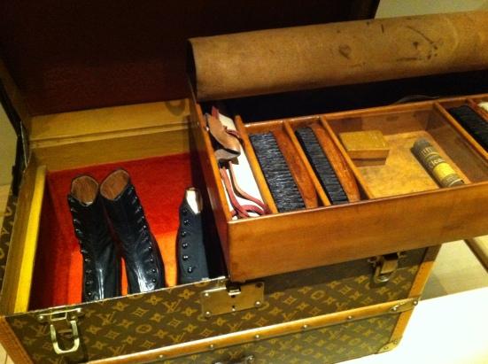 Malle à souliers Louis Vuitton