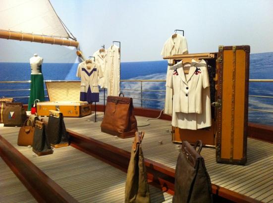 Les malles et sacs d'expédition, Louis Vuitton