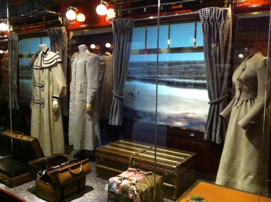 Voyager en train, exposition Louis Vuitton, Grand Palais, Paris