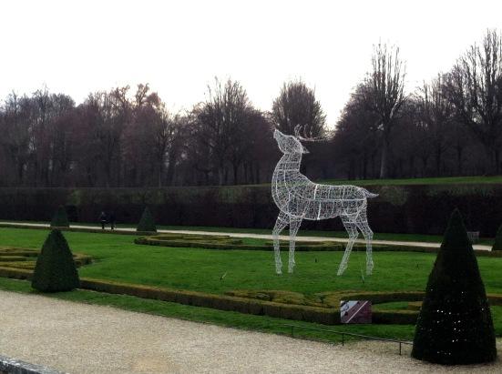 Cerf illuminé, château de Vaux le Vicomte