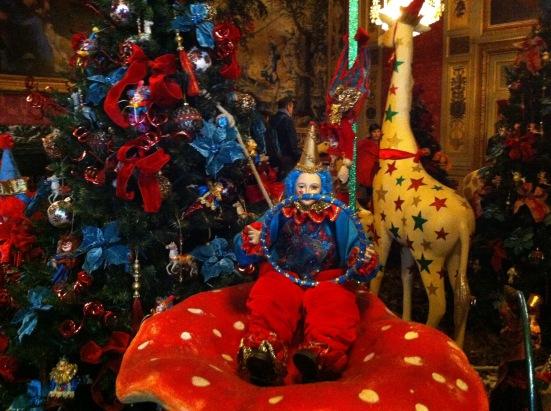 La joie du cirque de Noël au château de Vaux le Vicomte