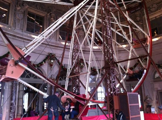 La grande roue, grand salon, château de Vaux le Vicomte