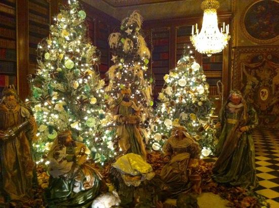 La crèche de Noël au château de Vaux le Vicomte