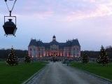 La féérie de Noël anime le Château de Vaux leVicomte