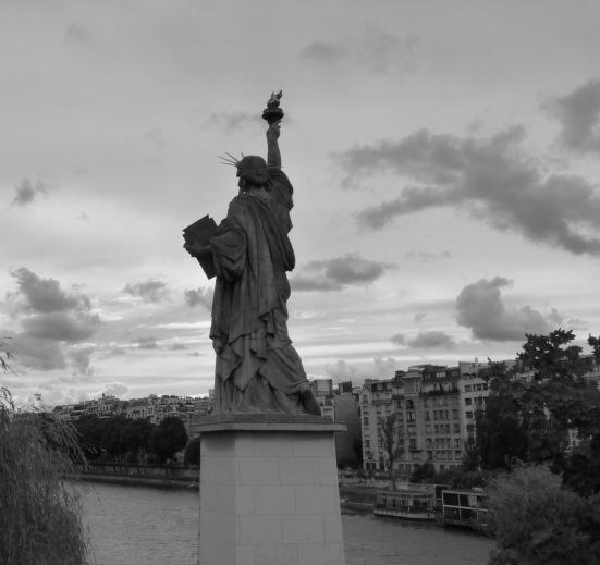 La statue de la liberté, Ile aux cygnes, Paris