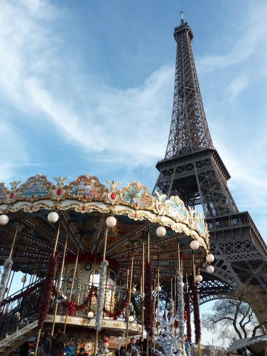 Le carousel de la tour Eiffel, Paris