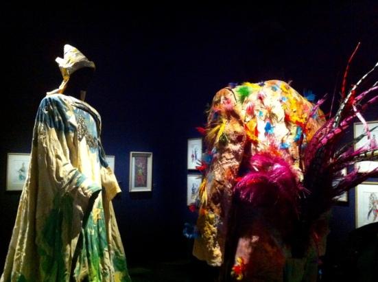 Costumes pour La flûte enchantée de Mozart, Exposition Chagall : le triomphe de la musique, La Philharmonie, Paris