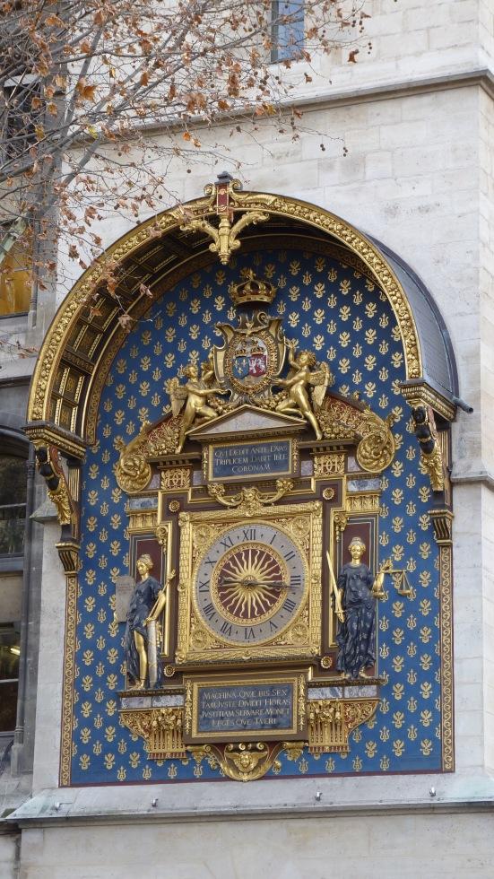 L'horloge historique, Ile de la Cité, Paris