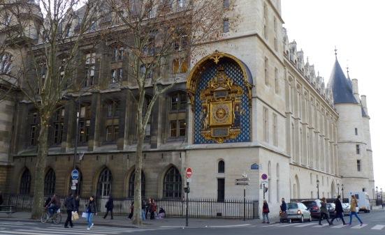 Tour de l'horloge, Ile de la Cité, Paris