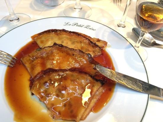 Crêpes Suzette au Grand Marnier