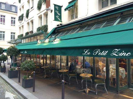 Terrasse du Petit Zinc, Paris