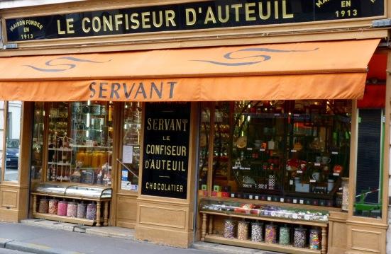 Le confiseur d'Auteuil Servant, Paris