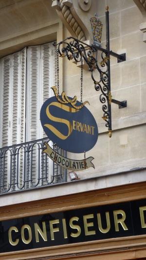 Le confiseur-chocolatier Servant, Paris