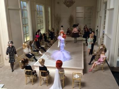 Défilé de mode Barbie