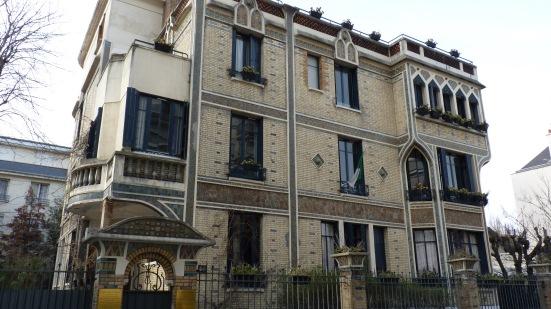 Ambassade d'Algérie, 40 rue Boileau, Paris