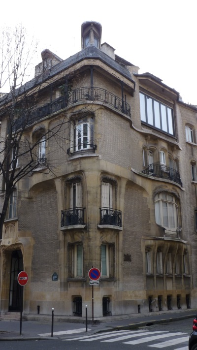 Hôtel particulier Hector Guimard, avenue Mozart, Paris