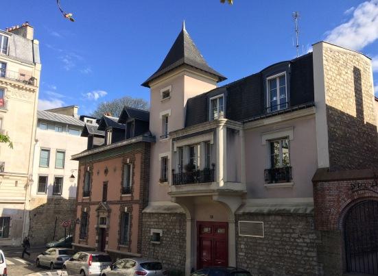 """Le """"petit château"""" de la Butte aux cailles"""