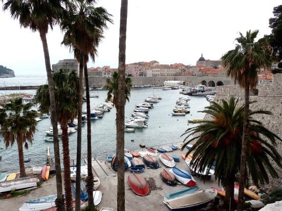Port de la vieille ville de Dubrovnik