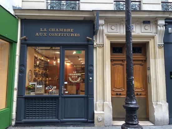 La chambre aux confitures, Paris