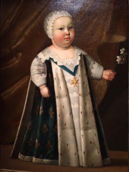 Portrait du futur Louis XIV enfant, vers 1640, huile sur toile, Anonyme