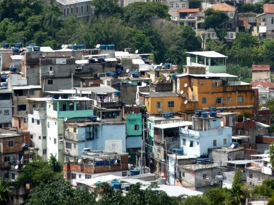Favela à Rio de Janeiro