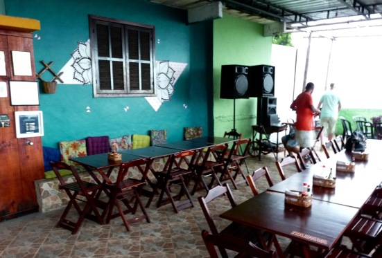 Bar do Alto, Favela Babilonia, Rio de Janeiro