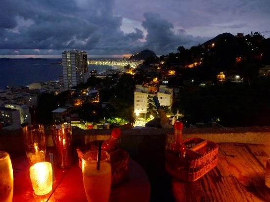 Coucher de soleil, Rio de Janeiro