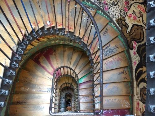 Escaliers du 59 Rivoli, Paris