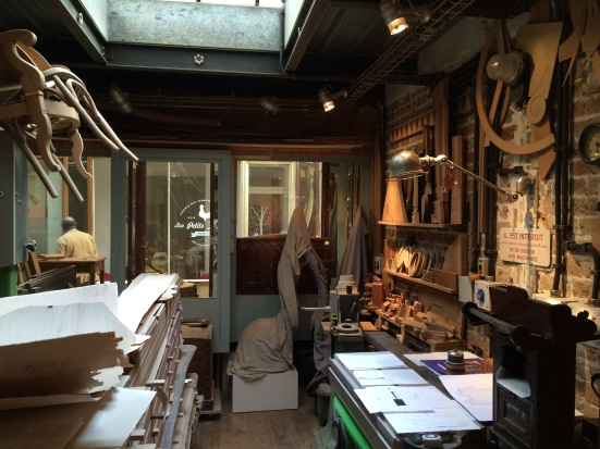 Atelier d'Ivan Lulli, Passage Bourg-l'Abbé, Paris