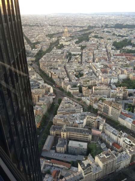 La tour Montparnasse, Paris