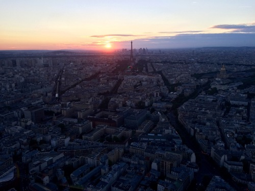 Vue de Paris depuis la tour Montparnasse
