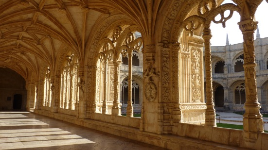 Le cloître du monastère de Jeronimos