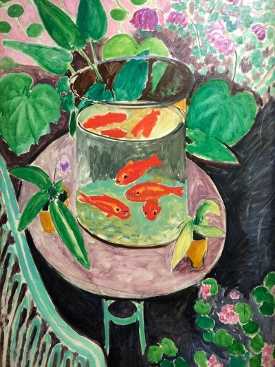Les poissons rouges, Henri Matisse, Issy-les-Moulineaux, 1912, huile sur toile © barbaravousenditplus