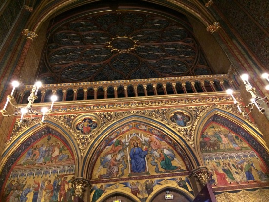 Peintures de la Sainte-Chapelle
