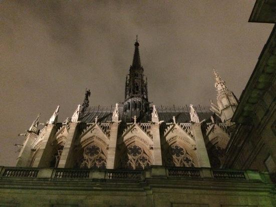 La Sainte-Chapelle, de nuit