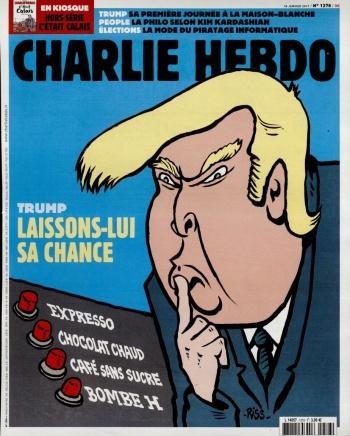 Une du Charlie Hebdo - mercredi 18 janvier 2017