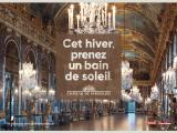 La campagne de pub d'hiver du château deVersailles