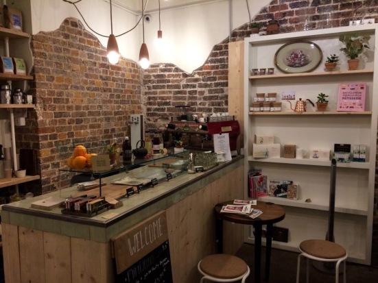 Bazar bio, salon de thé