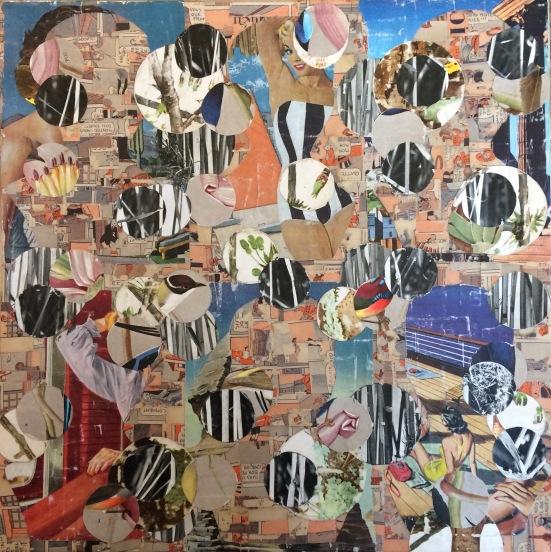 Roma Fade, Collage Matthew Rose, 2017