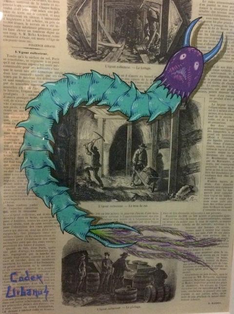 La légende du Scolopendre Paon, Codex Urbanus, 2018