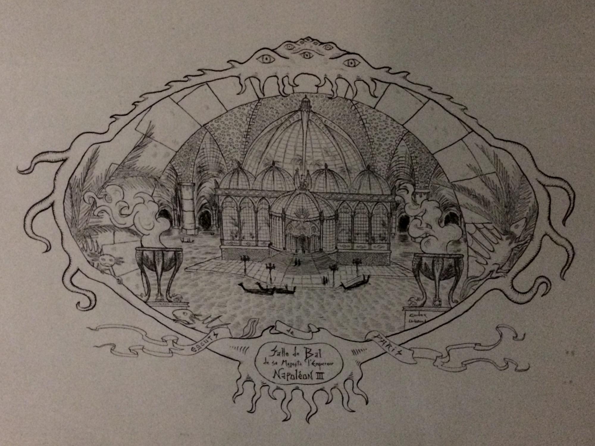 Salle de bal de sa Majesté l'empereur Napoléon III. Codex Urbanus. 2018