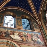 Les fresques chatoyantes de Saint-Germain-des-Prés
