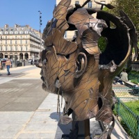 5 sculptures s'exposent en plein air