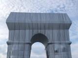 L'arc de triomphe empaqueté parChristo